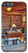 Gillette Castle Library IPhone Case by Susan Candelario