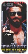 God's Terminator IPhone Case by Jessie J De La Portillo