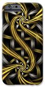 Gold And Silver IPhone Case by Sandy Keeton