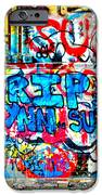 Graffiti Street IPhone Case by Bill Cannon