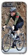 Grand Fondo Rider IPhone Case by Susan Leggett