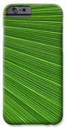 Green Palm Abstract IPhone Case by Kathleen Struckle