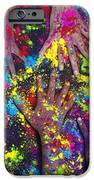 Hands Of Colour IPhone Case by Tim Gainey