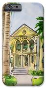 Hanford - California Sketchbook Project IPhone Case by Irina Sztukowski