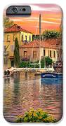 Harbour Sunset IPhone Case by Dominic Davison