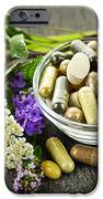 Herbal Medicine And Herbs IPhone Case by Elena Elisseeva