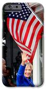 Hillary Clinton IPhone Case by Ed Weidman