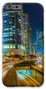 Hong Kong Highway At Night IPhone Case by Fototrav Print