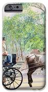 Horse And Carriage IPhone Case by Anthony Butera