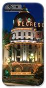 Hotel Negresco By Night IPhone Case by Inge Johnsson