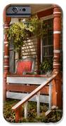 House - Porch - Traditional American IPhone Case by Mike Savad