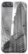 Hyatt And Chrysler IPhone Case by David Bearden