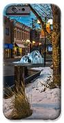 Ice Fountain IPhone Case by Baywest Imaging