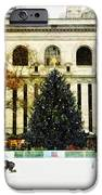 Ice Skating During The Holiday Season IPhone Case by Nishanth Gopinathan