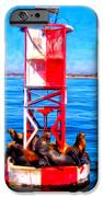 It's Lonely At The Top IPhone Case by Michael Pickett