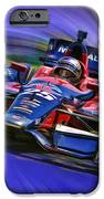 Izod Indycar Series Marco Andretti  IPhone Case by Blake Richards
