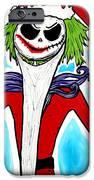 Jack-joke As Santa  IPhone Case by Jera Sky
