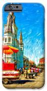 Jackson Square Painted Version IPhone Case by Steve Harrington