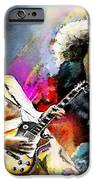 Jimmy Page And Robert Plant Led Zeppelin IPhone Case by Miki De Goodaboom