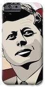 John F. Kennedy 1st Irish Catholic President  IPhone Case by Dancin Artworks