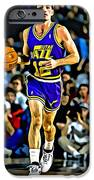 John Stockton Portrait IPhone Case by Florian Rodarte