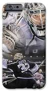 Jonathan Quick Collage IPhone Case by Mike Oulton