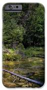 Jordan Headwaters In The Moonlight IPhone Case by MJ Olsen