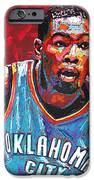 Kevin Durant 2 IPhone Case by Maria Arango
