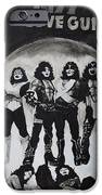 Kiss Drawing IPhone Case by Tony Orcutt