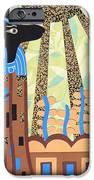 Klimt's Paper Anubis IPhone Case by Sarah Durbin