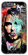 Kurt Cobain Portrait IPhone Case by Gary Grayson