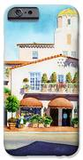 La Valencia Hotel IPhone Case by Mary Helmreich