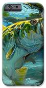 Large Mouth Bass And Blue Gills IPhone Case by Savlen Art