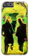 Le Chat Noir IPhone Case by Chuck Staley