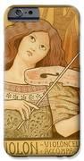 Lecons De Violon IPhone Case by Gianfranco Weiss