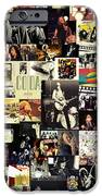 Led Zeppelin Collage IPhone Case by Taylan Soyturk