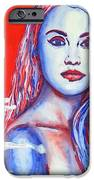 Liberty American Girl IPhone Case by Anna Ruzsan