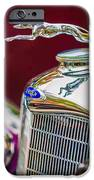 Lincoln Hood Ornament - Grille Emblem -1187c IPhone Case by Jill Reger