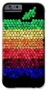 Lite Brite Macintosh IPhone Case by Benjamin Yeager