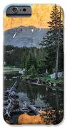 Little Bear Peak And Lake Como IPhone Case by Aaron Spong