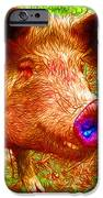 Little Miss Piggy - 2013-0108 IPhone Case by Wingsdomain Art and Photography