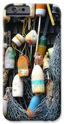 Lobster Buoys Fishermans Shed IPhone Case by Thomas R Fletcher