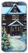 Louisa May Alcott's Christmas IPhone Case by Rita Brown