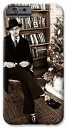 Luke On Christmas Eve IPhone Case by Sarah Loft