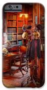 Macabre - In The Headhunters Study IPhone Case by Mike Savad