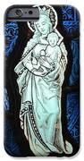 Madonna And Child IPhone Case by Gilroy Stained Glass
