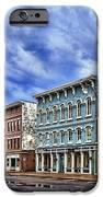 Main Street Usa IPhone Case by Tom Mc Nemar