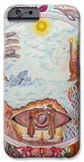 Mandala Atlanits IPhone Case by Lida Bruinen