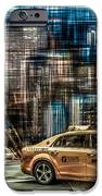 Manhattan - Yellow Cabs - Future IPhone Case by Hannes Cmarits