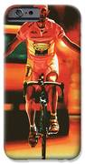 Marco Pantani IPhone Case by Paul Meijering